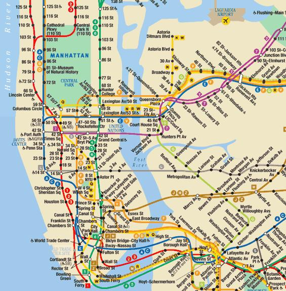 new-york-metro-map